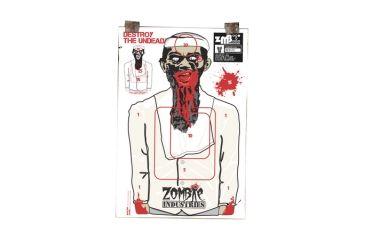 Zombie Industries Terrorist Zombie Standard Paper Indoor Targets 18x24 Inch 100 Per Package