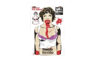 Zombie Industries The Ex Zombie Colossal Paper Targets 24x36 Inch 100 Per Package