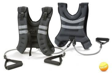Zon Deluxe Walking Vest with Resistance Tubes 062568