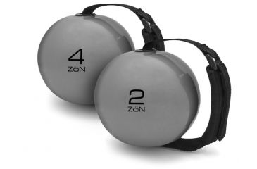 Zon Weighted Exercise Ball with Adjustable Hand Strap - 4 lb. 062566