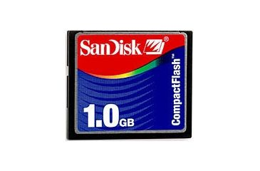 SanDisk 1GB Compact Flash CF Memory Card SDCFB1024A10