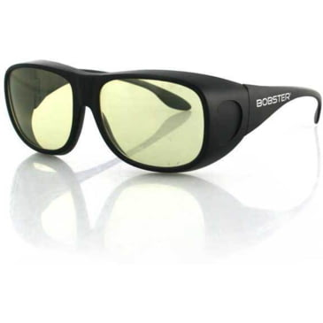 Bobster Charger Sunglasses w//Yellow Lenses