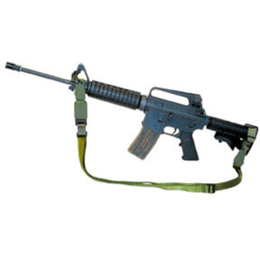 Eagle Industries 3 Point Adjustable Gun Sling With Quick Release Buckle  1 In BK