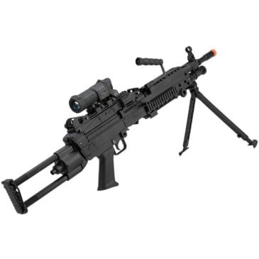 Fn Herstal Licensed M249 Para Featherweight Airsoft Machine Gun W Free Shipping And Handling