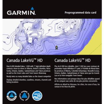 Free Garmin Canada Map Garmin Canada LakeVü HD GPS Map | w/ Free Shipping