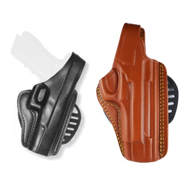 Gould /& Goodrich The Body Guard Holster Size 2 Ambidextrous Tan T727-2md for sale online