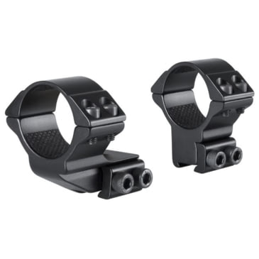 Hawke Tactical Mounts 30mm 2pc 9-11mm RAIL Extra High Scope Mount Anelli 24108