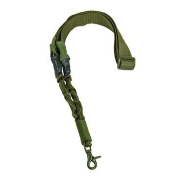Armée Style Tactique Un Point Bungee Sling Airsoft Rifle Sling noir 7086