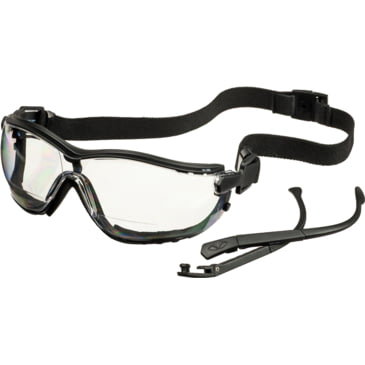 Pyramex V2G Readers Safety Glasses with Adjustable Strap and Magnifying Reade...