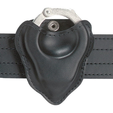 Safariland 090H-18 Black Basketweave Open-Top Formed Handcuff Pouch