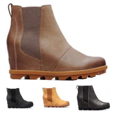 sorel wedge boots on sale