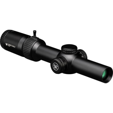 Eagle Eye Rifle Scopes 1-6X24 30mm Red//Green Illuminated Tactical Scope German#4 Etched Glass Reticle Rifle Scope with One Piece Offset Mount