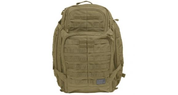 5.11 Tactical Rush 72 Backpack, Olive Drab 58602-188