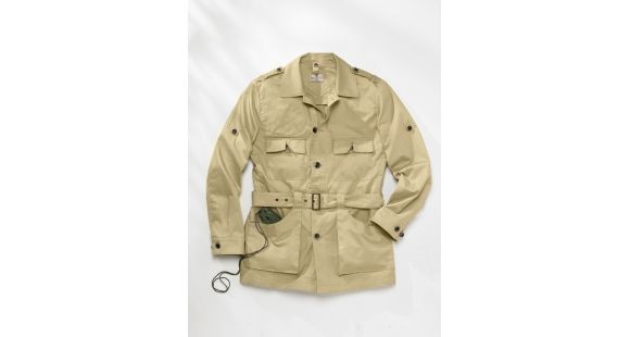 Beretta Mens Safari Jacket Tan 3xl