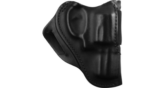 BlackHawk Leather Speed Classic Leather Holster - Plain Black, S&W J Frame-  Right Hand — Color: Black, Finish: Matte, Fabric/Material: Leather,