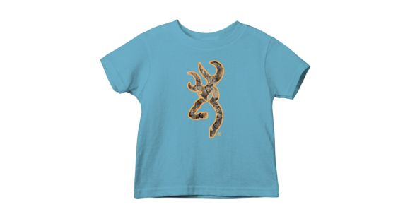 d0e721eb4964c Browning Toddler Graphic Mo Country Buckmark Short Sleeve T-Shirt - Men's,  Turquoise,