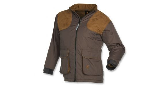 428e3eb600c46 Browning Men's Ballistic Insulated Shooting Jacket, Charcoal/Brown, M  3040147902