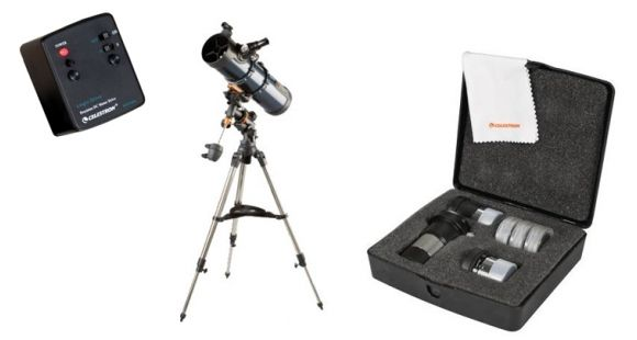 Celestron astromaster eq reflector telescope out of models
