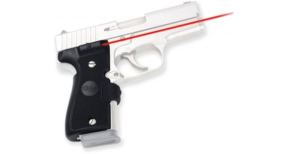 Crimson Trace Rubber Lasergrip - Kahr Arms K9/K40, Black, New - LG460 —  Battery Type: Lithium, Weight: 10 8, Condition: New — LG-460