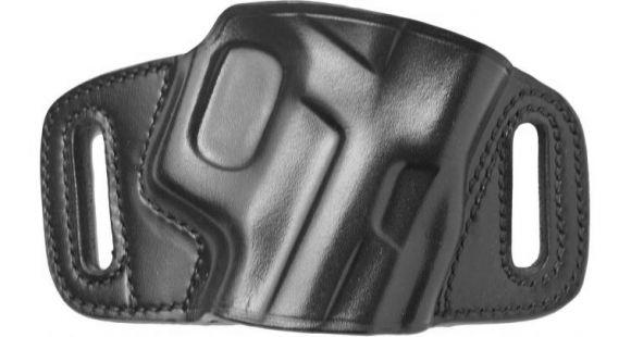 Galco Quick Slide Belt Holster, Kimber Micro 9, Right hand, Kydex/Premium  Steerhide Finish, Black, QS664B