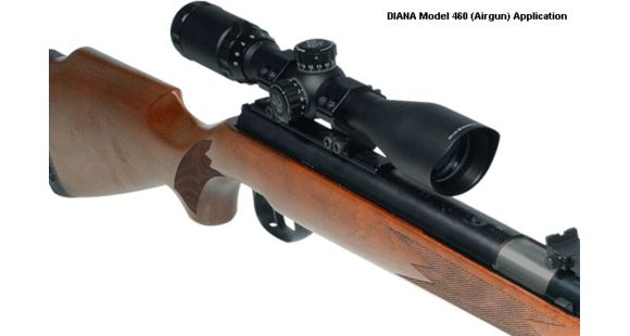 Leapers UTG 1in 3-9X40 TF2+ Rifle Scope RGPM-25M4 Airgun with  22 Rings  SCP-U394FDT2
