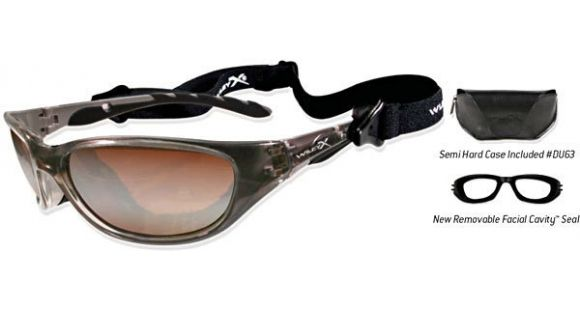 cfc1b14a76 Wiley X AirRage Sunglasses - Crystal Bronze Frame w  Bronze Flash w   Crimson Brown