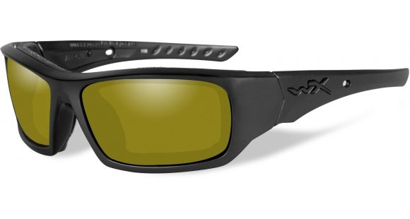 a626f5e131 Wiley X WX Arrow Sunglasses - Polarized Yellow Lens   Matte Black Frame