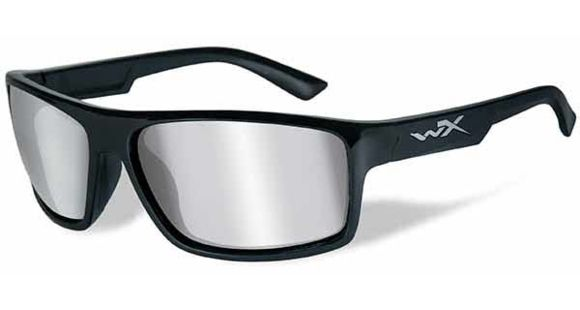 a9d0ca54ba Wiley X WX Peak Sunglasses - Silver Flash Lens   - 1 out of 5 models