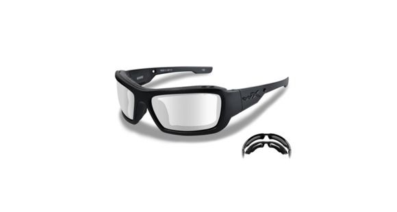 7e87316123b Wiley X WX Knife Sunglasses - Clear Lens   Gloss - 1 out of 2 models