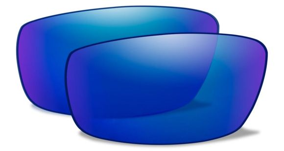 2b17f7077a Wiley X Zak Replacement Parts - Polarized Blue Mirror w  Green Tint Lens
