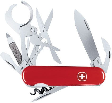 Can Swiss Army Knives Be Pilfered For Their Cool Gadgets