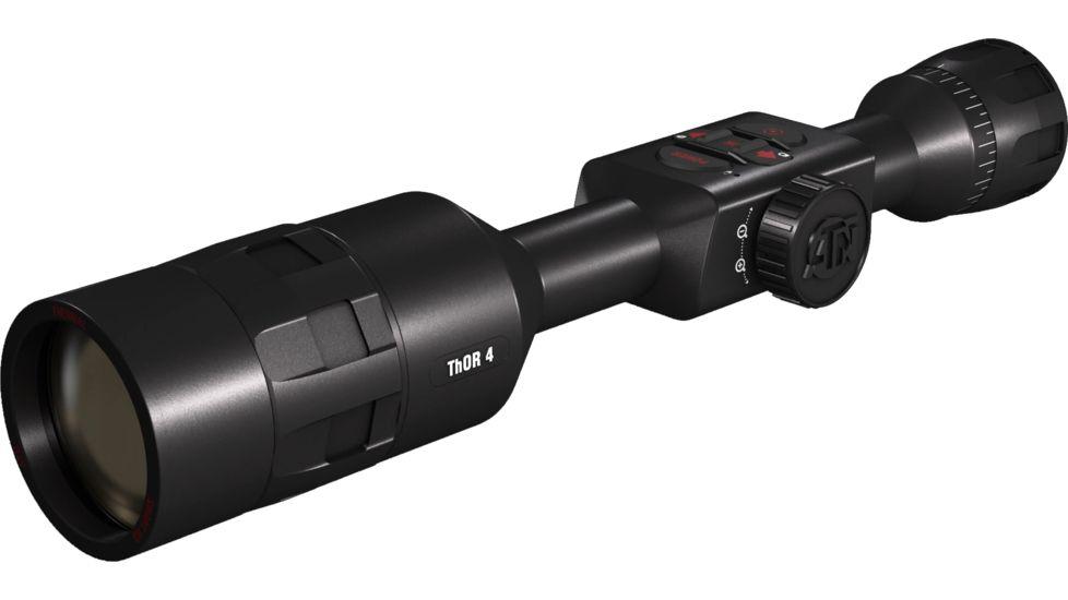 ATN ThOR 4, 640x480 Sensor, 4-40x Thermal Smart HD Rifle Scope w/WiFi, GPS, Black, TIWST4644A