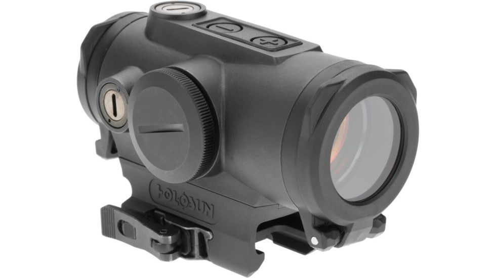 Holosun HE530G-RD Elite Red Dot, 65 MOA/2 MOA Dot Reticle, Black, HE530G-RD