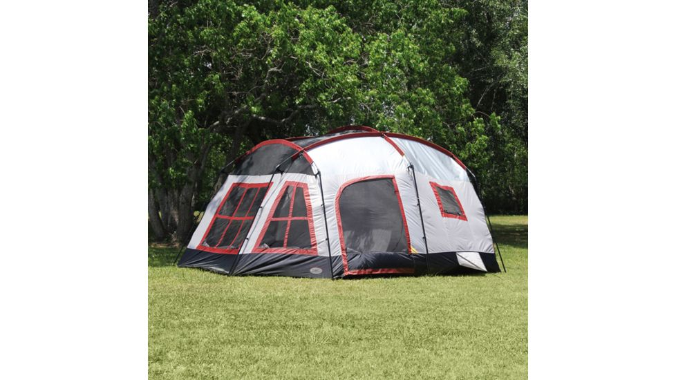 Texsport Highland Three-Room Family Cabin Tent TX01402