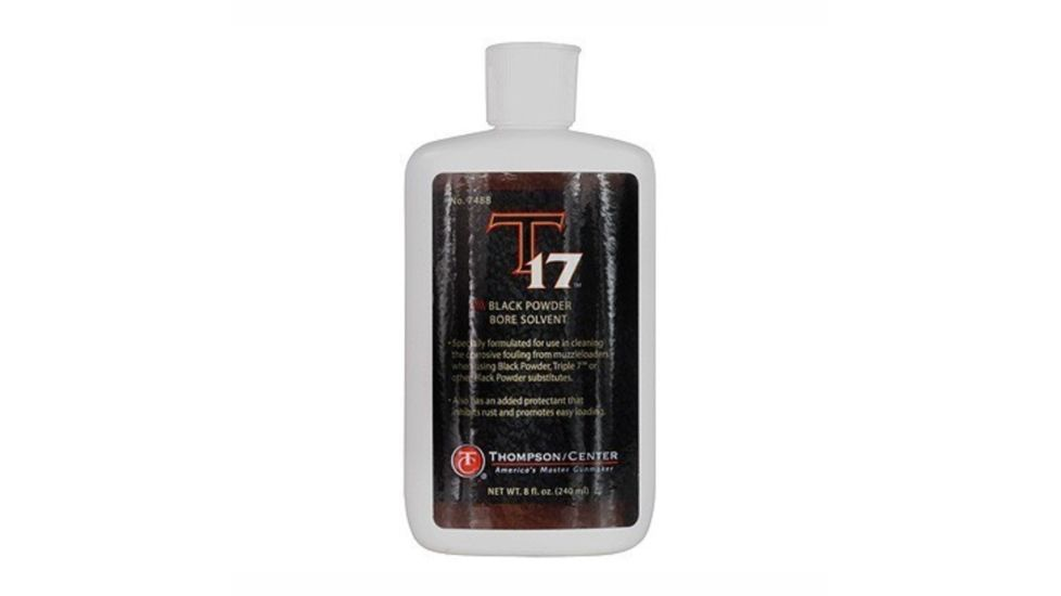 Thompson Center T17 Bore Solvent, 8oz. Bottle 48863