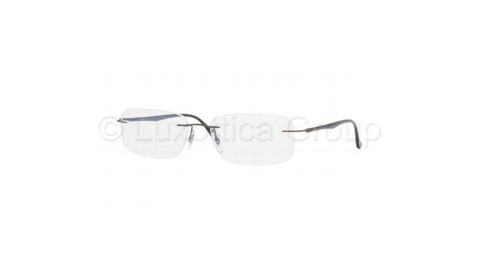 e6c524682fb ... ray ban rx8724 tech eyeglasses 1000 gun metal