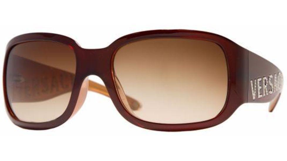 3451b64fef49 VERSACE Sunglasses VE 4131B 520 13 Burgundy   Brown Gradient Lens