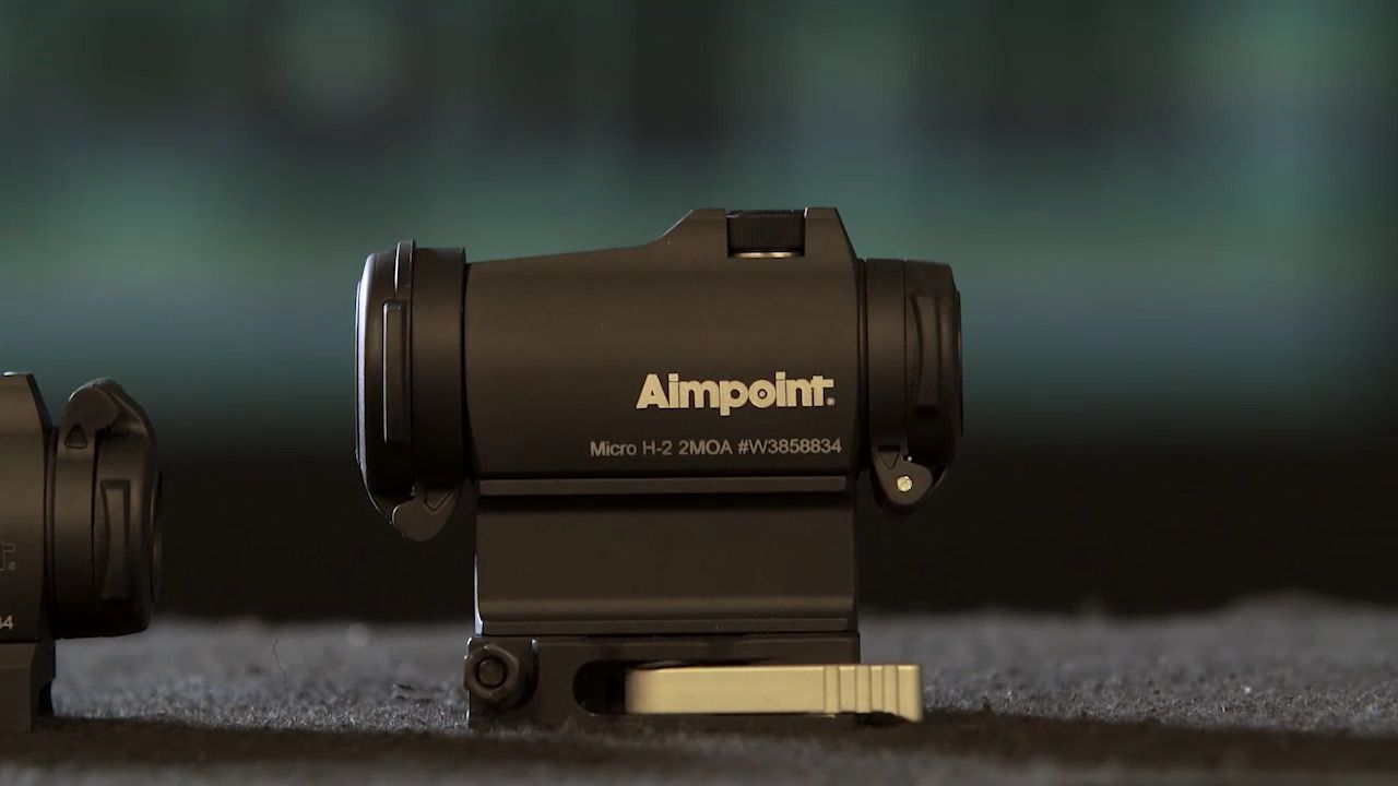 Aimpoint Micro H 2 Red Dot Sight 2 Moa 5 Star Rating W Free Shipping