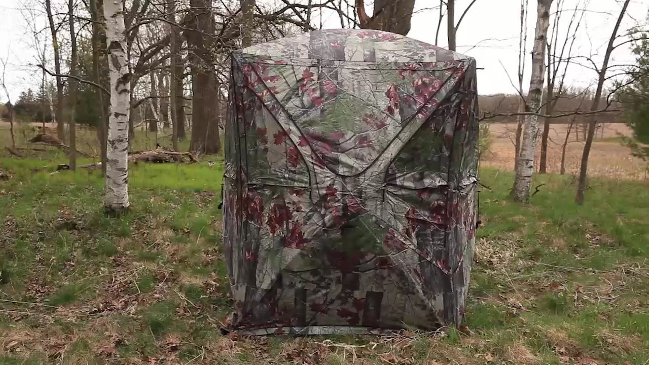 youtube ground blinds barronett blind watch
