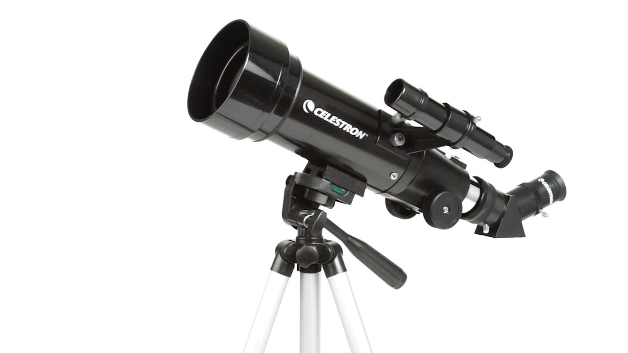 Celestron travel scope portable telescope off star