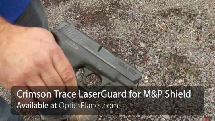 Crimson Trace Green Laserguard Gun Sight For S Amp W M Amp P