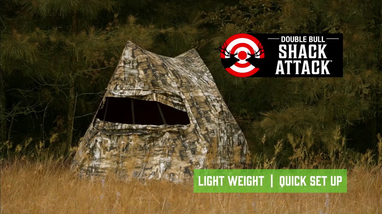 Primos Shack Attack Double Bull Blind Free Shipping Over