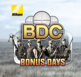 Nikon BDC Days are Back! Save up to $100 Instantly on Select BDC Scopes