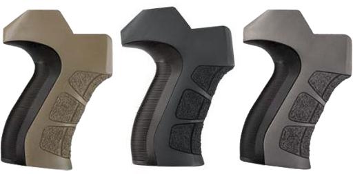 ATI AR-15 X2 Scorpion Recoil Pistol Grip, Destroyer Gray