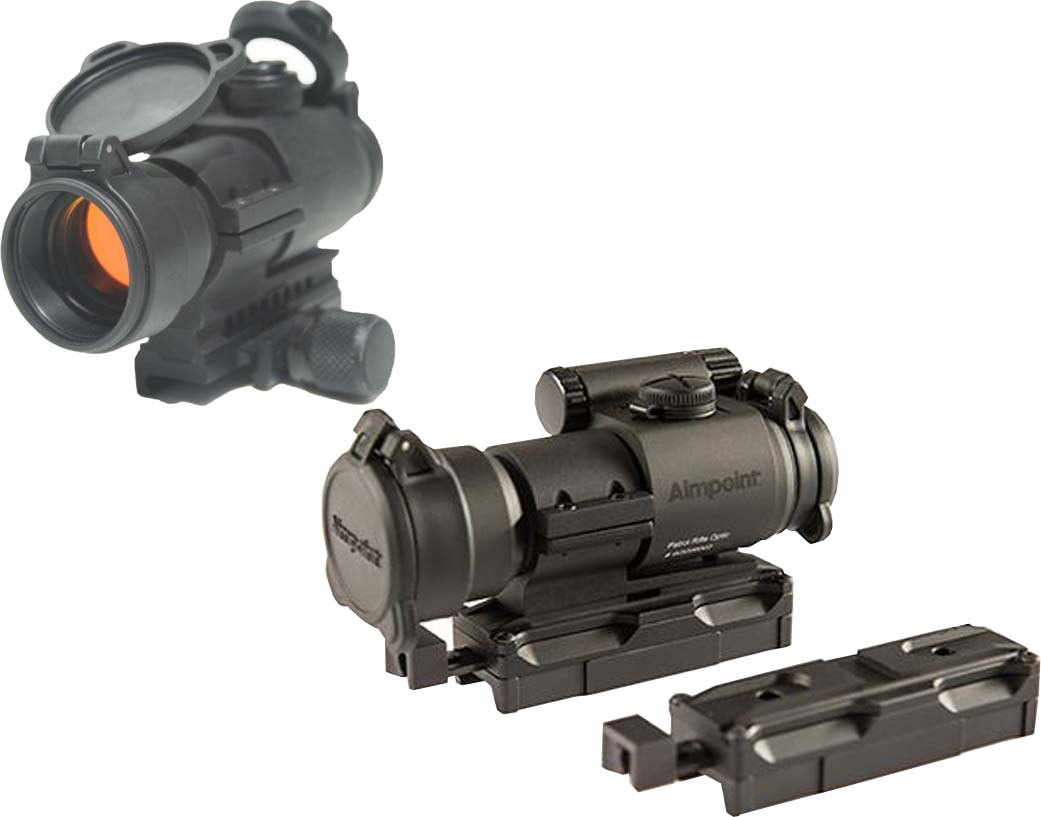 Aimpoint Pro Patrol Rifle Optic Red Dot W Kinetic 1 Out Of 2 Models