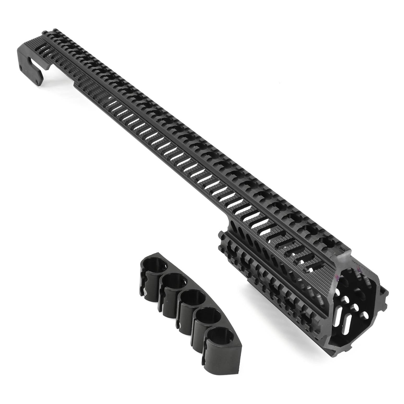 Tactical aluminium Mount 12 gauge 870 double Picatinny//Weaver rail