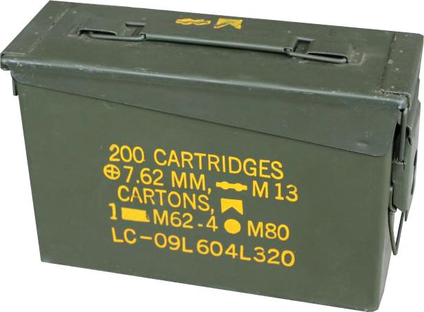 Ammodor Ammo Can Cigar Humidor .30 cal surplus ammunition box combat humidor