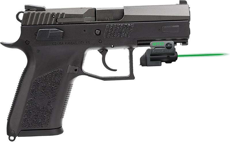 Armalaser Gtoflx Finger Touch Green Laser Sight For Cz Handguns