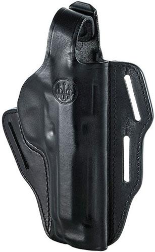 Beretta Holster 92fs/m9a1 Belt Slide Rh Leather Black