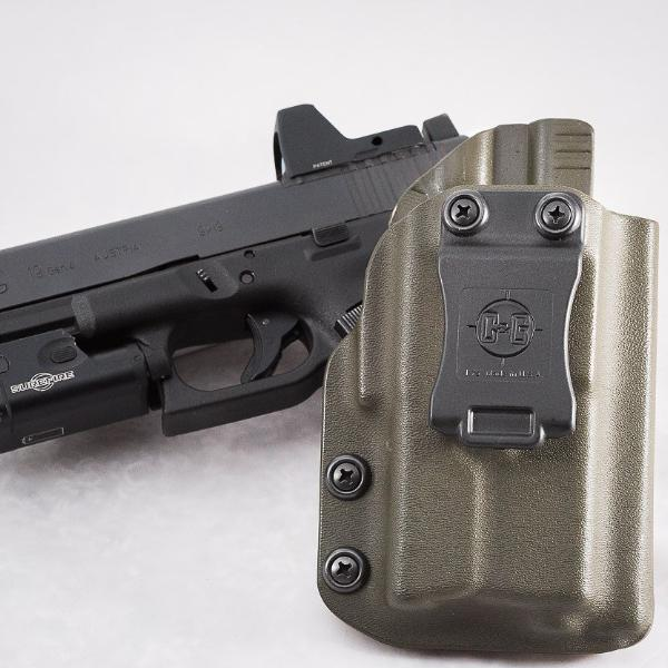 C&G Holsters IWB Tactical Kydex Holster, Glock